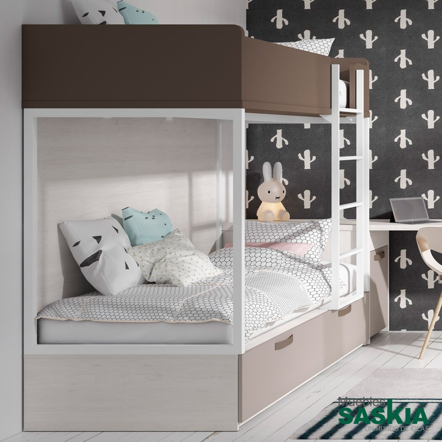 Mueble de dormitorio, litera