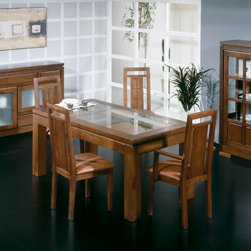 Mesa de comedor habana 4029 muebles saskia en pamplona - Mesa alta comedor ...