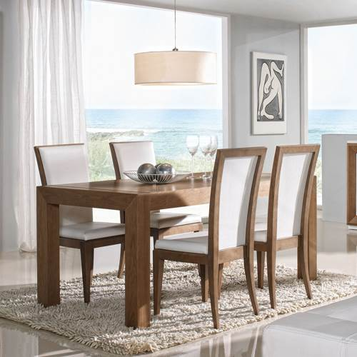 mesa de comedor extensible sapphire 5222 muebles saskia en pamplona - Sillas Y Mesas De Salon