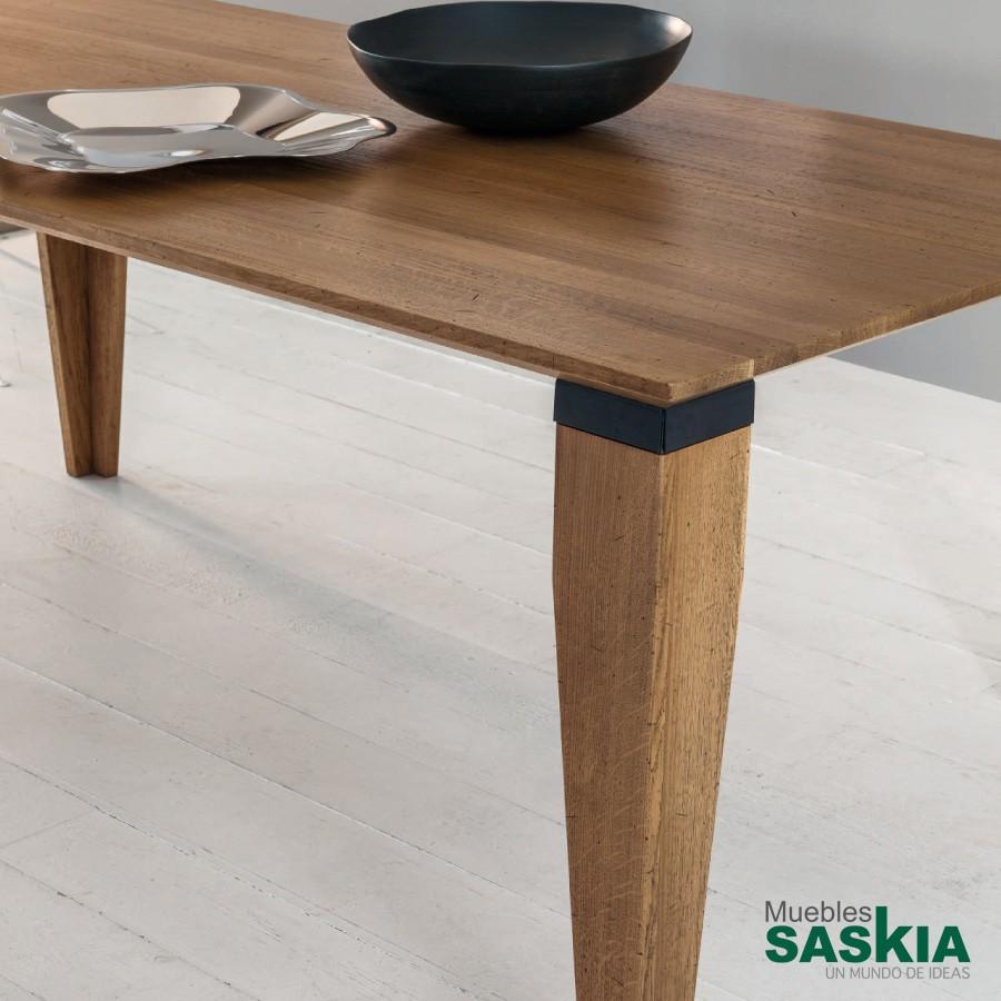 Mesa Swing, madera de calidad