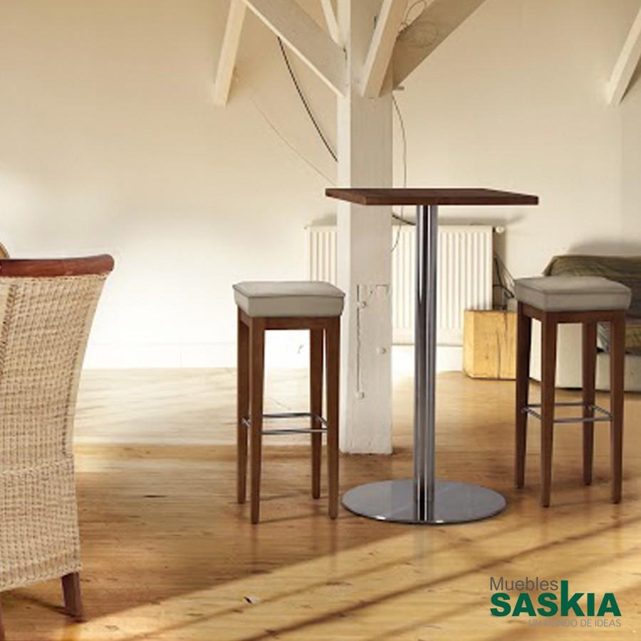 Mesa alta de 60 x60