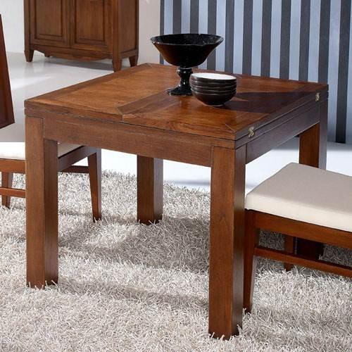 Mesa de comedor sunkai 90 extensible 2043 muebles saskia - Mesa comedor colonial ...