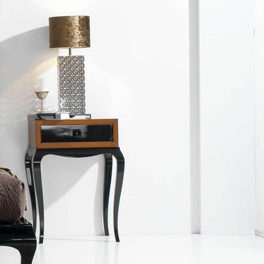 Mesita de noche amura 560 muebles saskia en pamplona for Muebles mesitas de noche