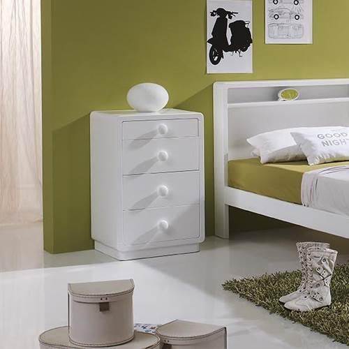 Mesita de noche art deco 625074 muebles saskia en pamplona for Mesitas de noche negras