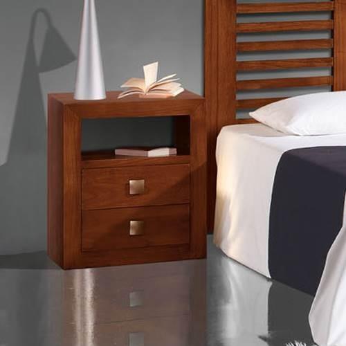 Mesita de noche sunkai 2002 muebles saskia en pamplona for Muebles mesitas de noche
