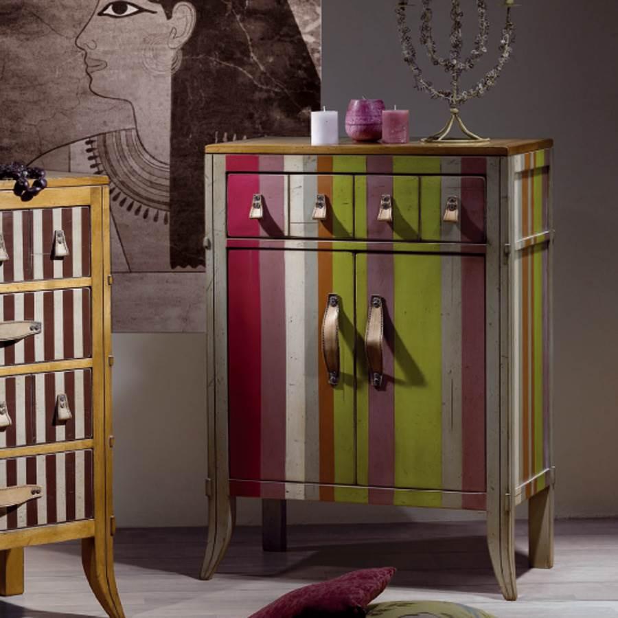 Recibidor lester vintage lester muebles saskia en pamplona - Muebles de entrada vintage ...