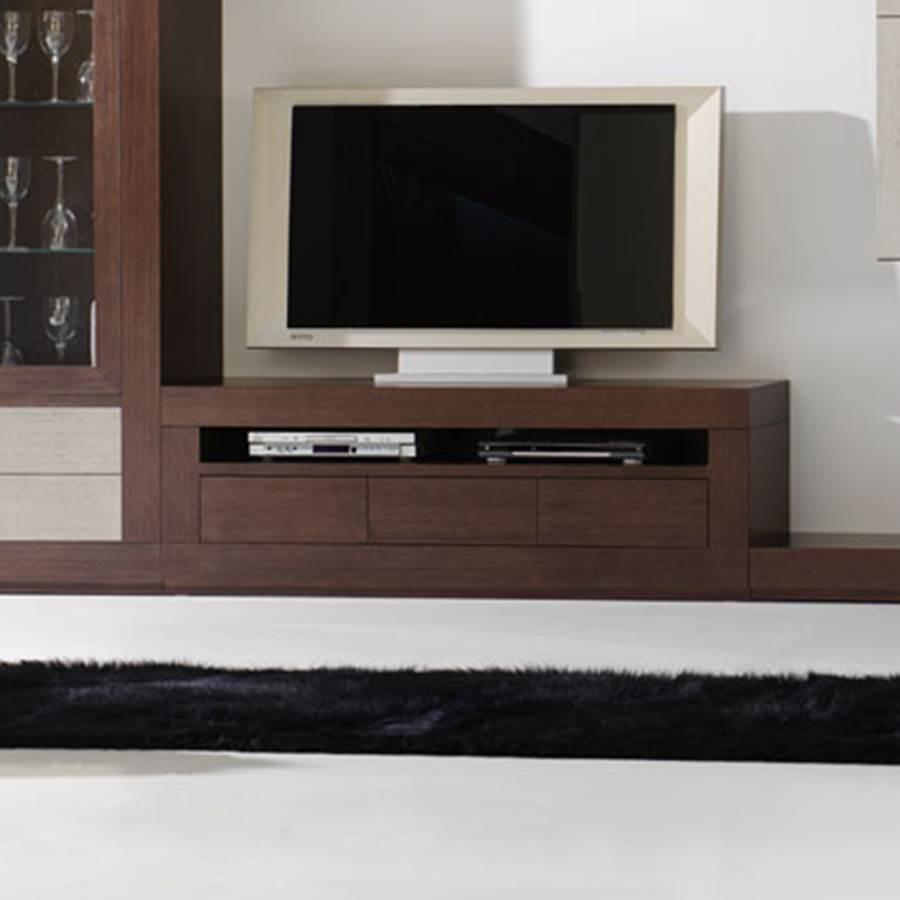 Mueble tv contempor neo 032 muebles saskia en for Mueble tv 3 metros
