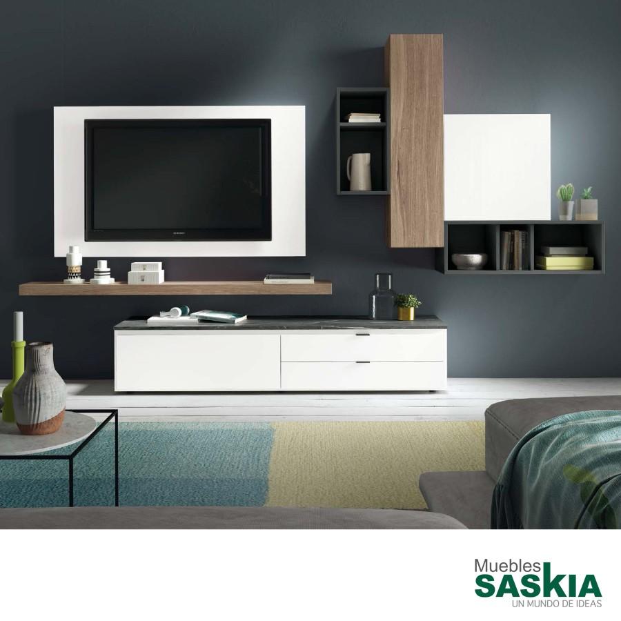 Muebles de salón actual, ambiente moderno