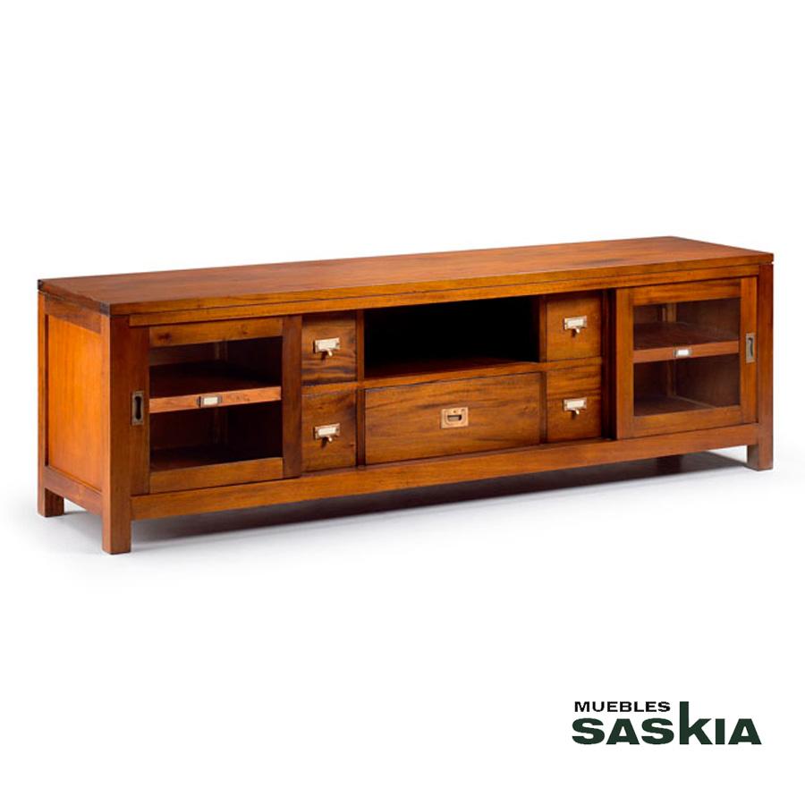 Muebles Tv Sal N Colonial Y Tnico Muebles Saskia En Pamplona ~ Muebles De Salon Estilo Colonial