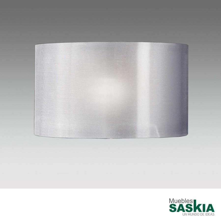 Pantalla diámetro 40 e-27 plata