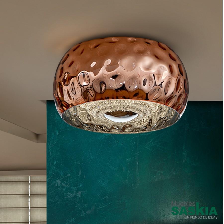 Lámparas fluvio cobre diámetro 40