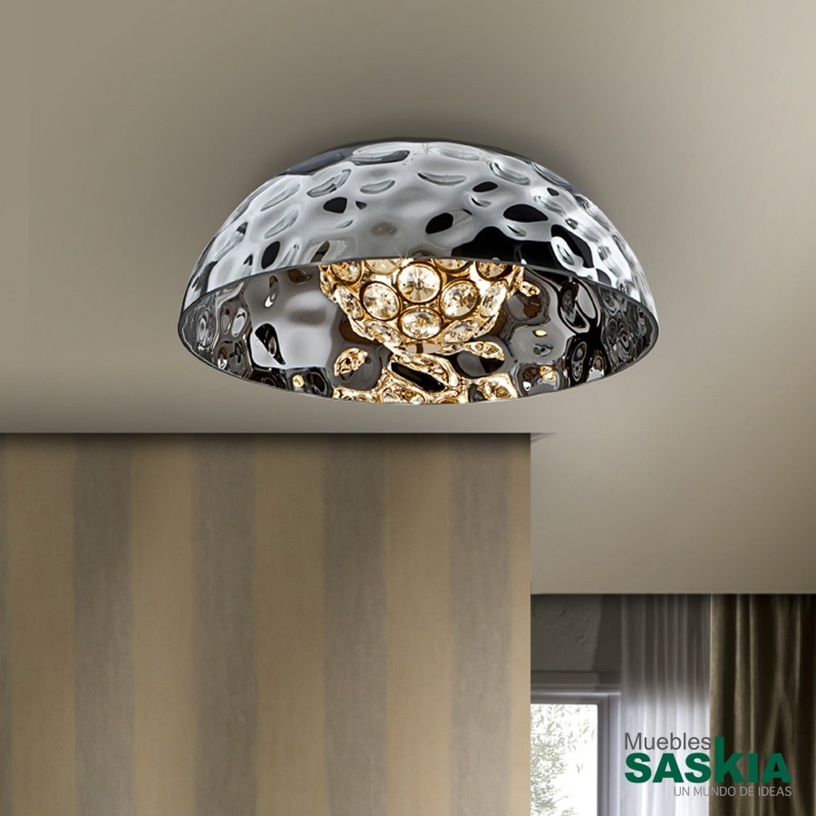 Lámparas mare cromo 3g9 diámetro 39