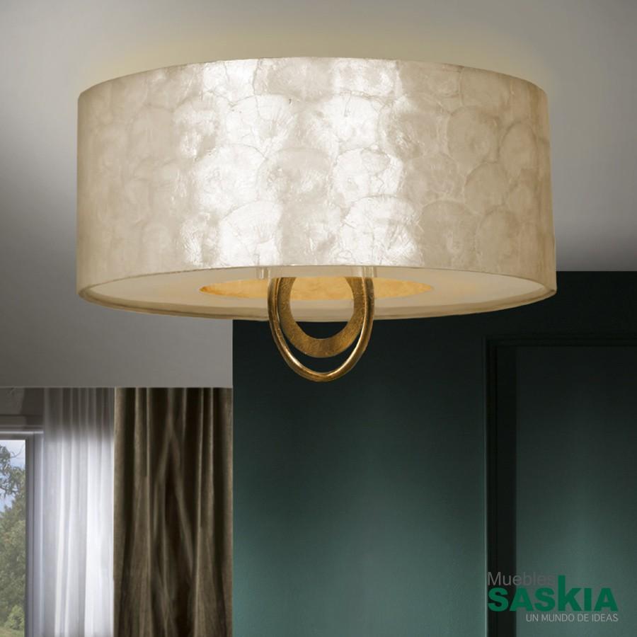 Lámparas eden oro diámetro 55 4l