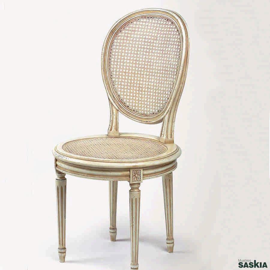 Silla estilo louis xvi 13 13 muebles saskia en pamplona - Sillas louis xvi ...