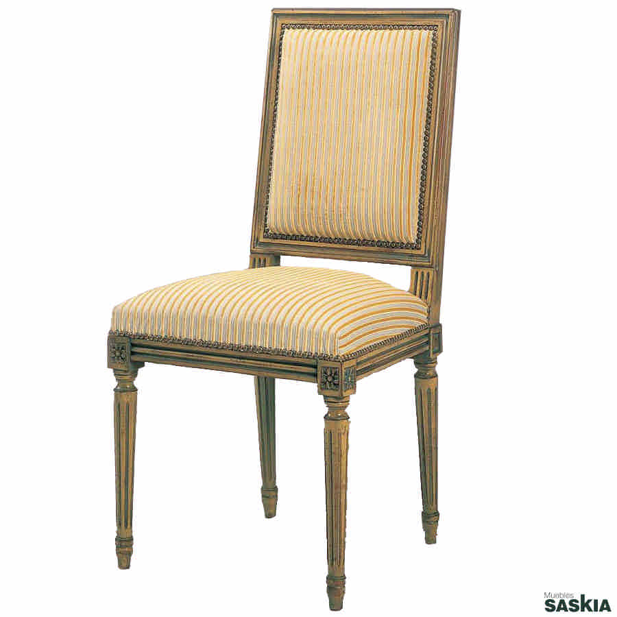Silla estilo louis xvi 22 22 muebles saskia en pamplona - Sillas louis xvi ...