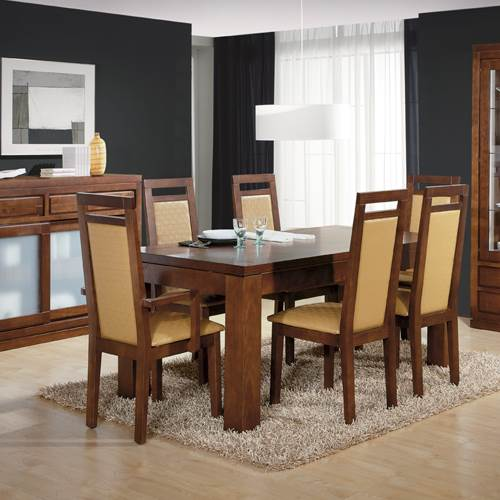 Silla de comedor 4279 muebles saskia en pamplona for Sillas modernas vintage