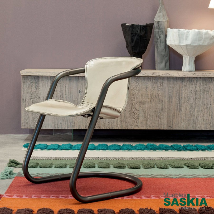 Indy, silla tapizada