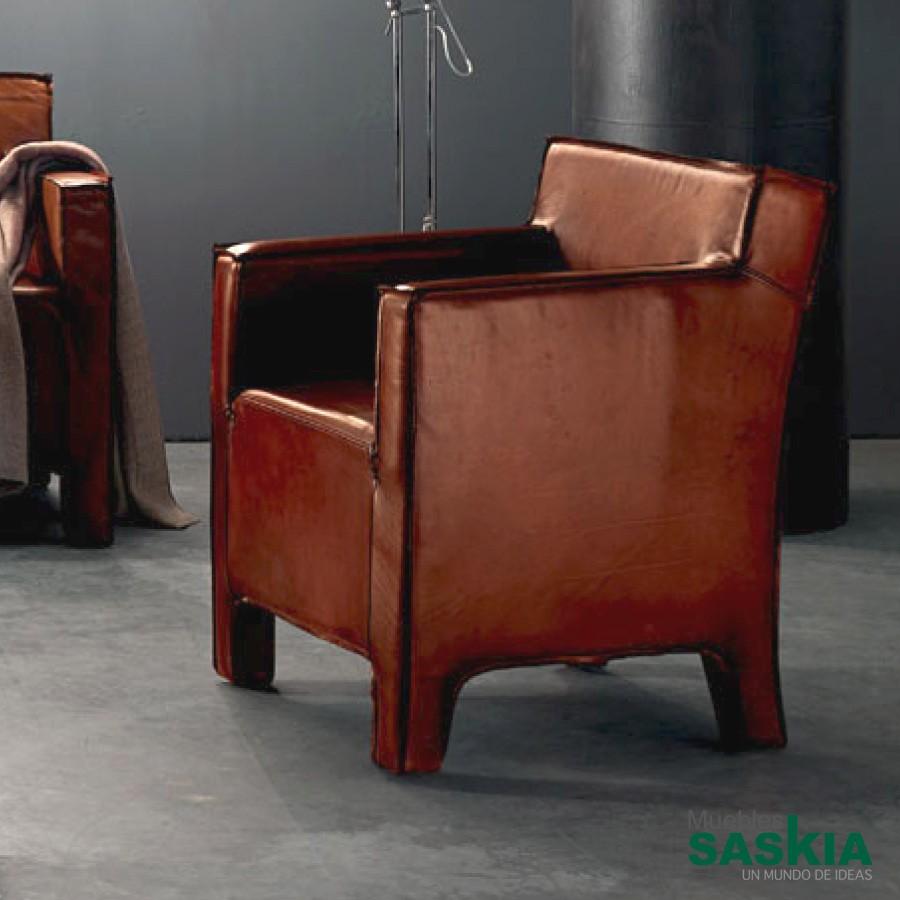 Baltimora, sillón de piel