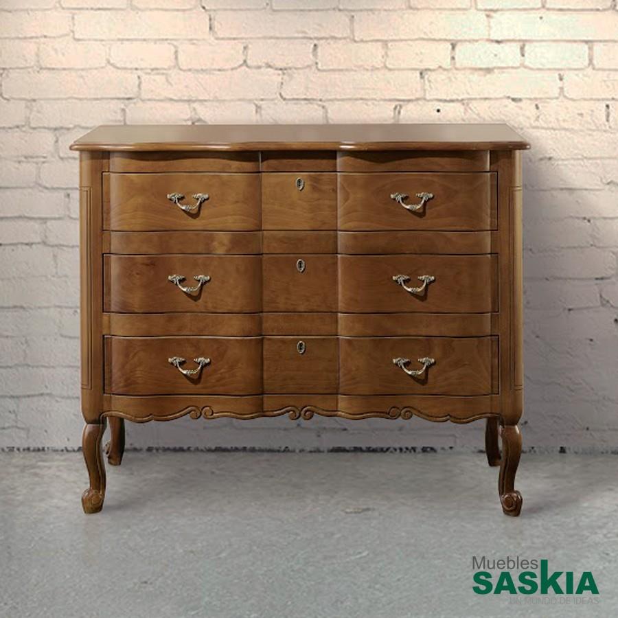 Cómoda clásica madera de calidad