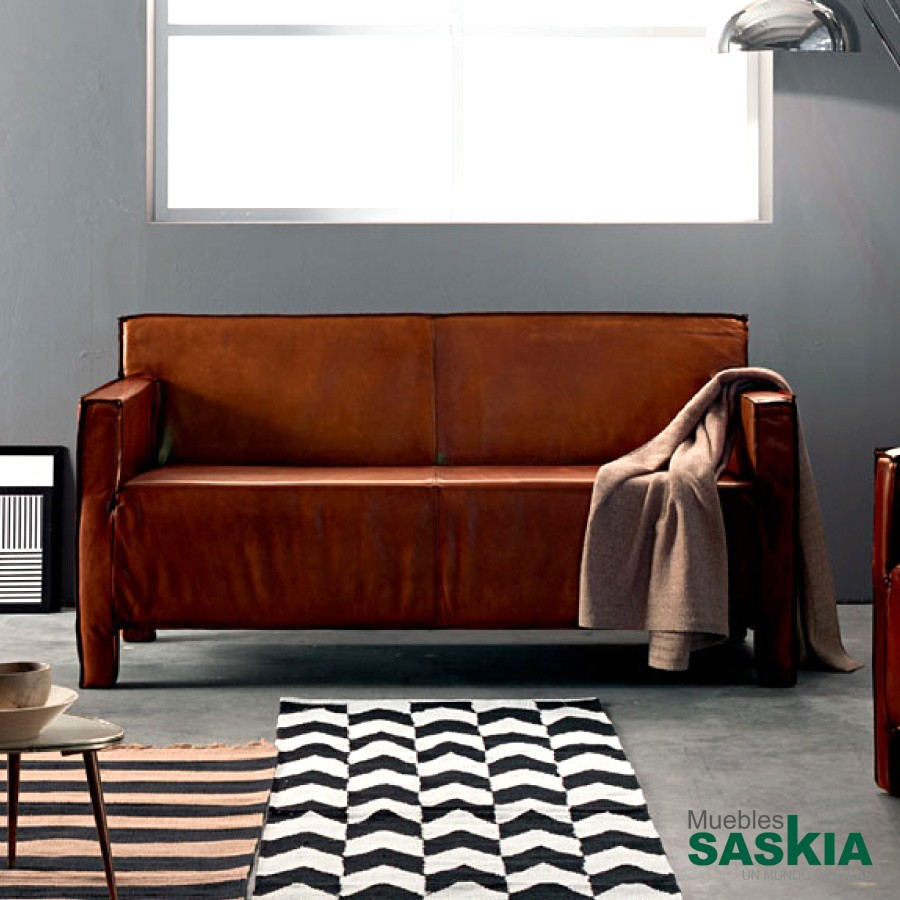 Baltimora sofá 2, sofá de piel