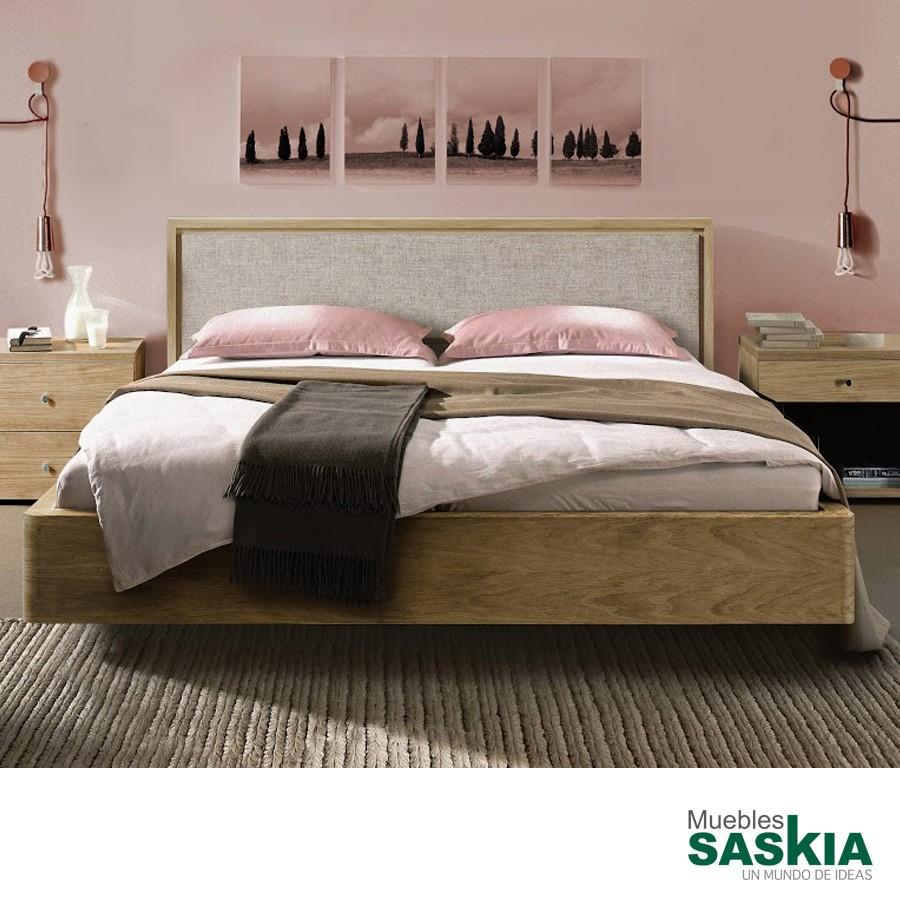 Base de cama Sophie + cabecero Iceland