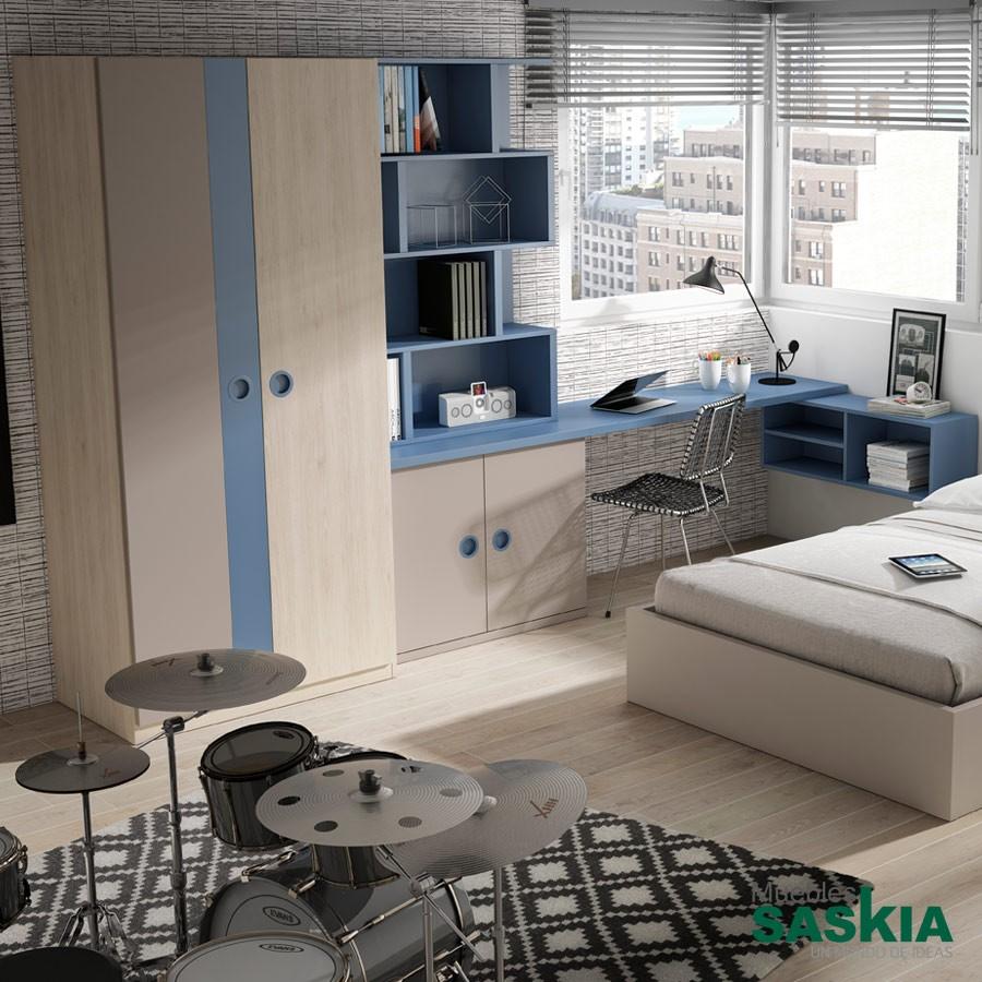 Armario de dormitorio juvenil