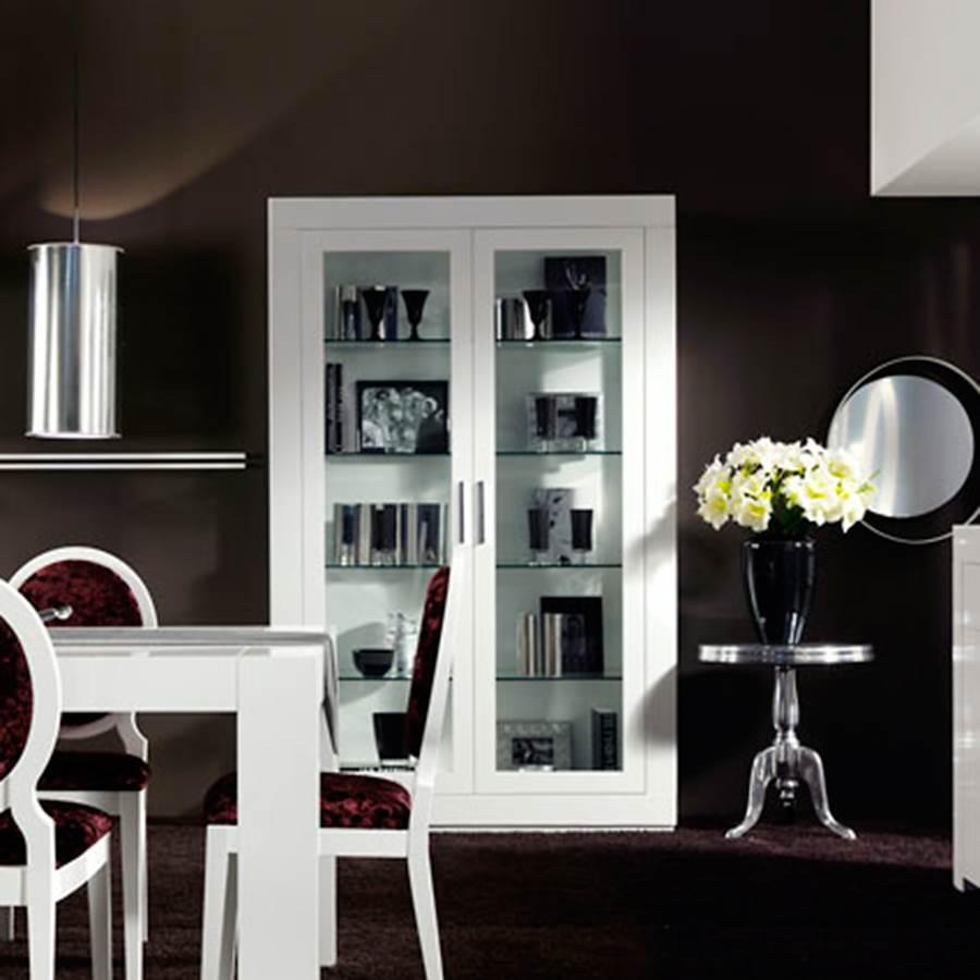 Vitrina duomo 130 muebles saskia en pamplona - Vitrinas de salon ...